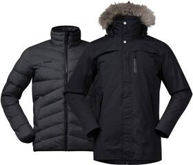 Bergans Stranda Hybrid Jacket dark navydark navy melangedark fogblue